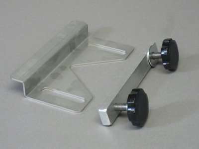 Upper universal mounting bracket